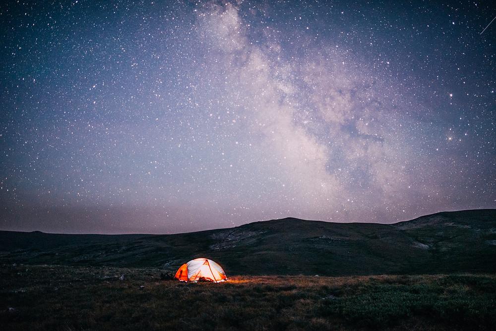 Stars on Beartooth Pass, Montana |  Montana Adventure Photographer | Montana Photographer
