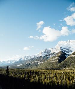 Sunrise in Banff, Alberta