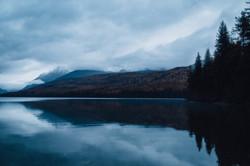 Bowman Lake Sunrise- Montana