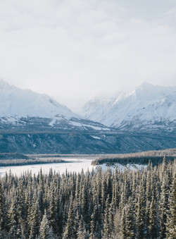Matanuska- Mountains- Alaska- Travel