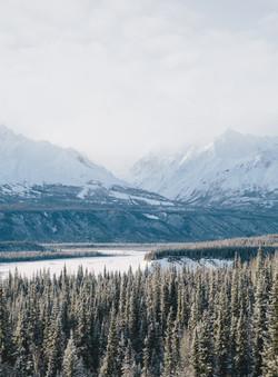Matanuska- Mountains- Alaska- Travel