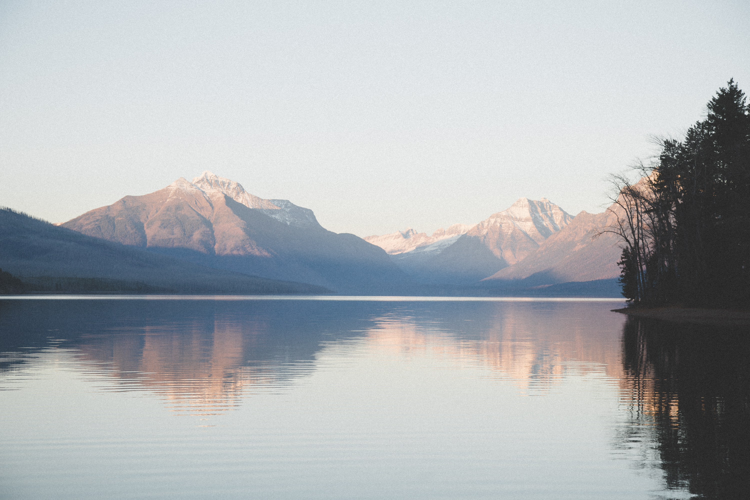 Lake McDonald Sunset Reflection- MT