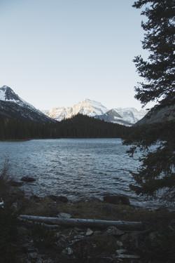 Sunrise on Mt. Gould- Montana