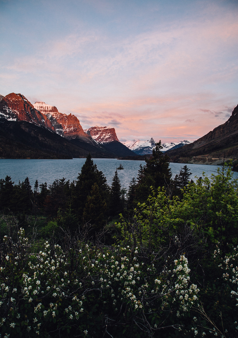 St.Mary Sunrise, Glacier National Park, Montana |  Montana Adventure Photographer | Montana Photographer