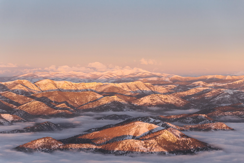 Bob Marshall Sunrise- Montana Photo