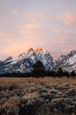 Teton Sunrise-Grand Teton-Sunrise