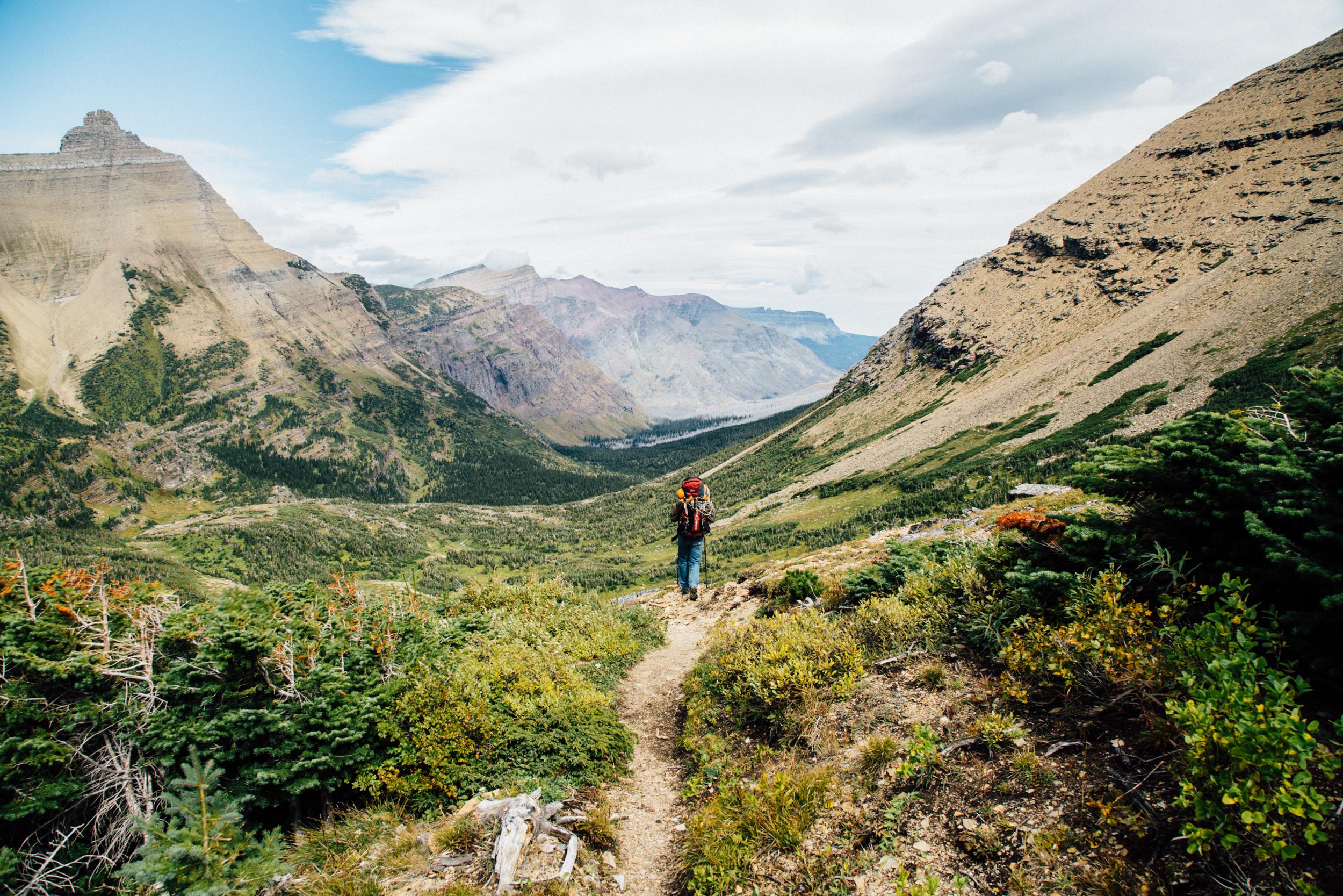 backpacking glacier