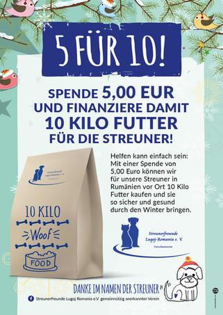 """PLAKAT / SOCIAL MEDIA AD """"5 FÜR 10"""""""