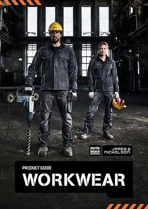 Workwear Katalog James & Nicholson Grafik Werbeagentur Fotoshooting