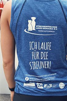"""CLAIM STUTTGARTLAUF """"ICH LAUFE FÜR DIE STREUNER"""""""