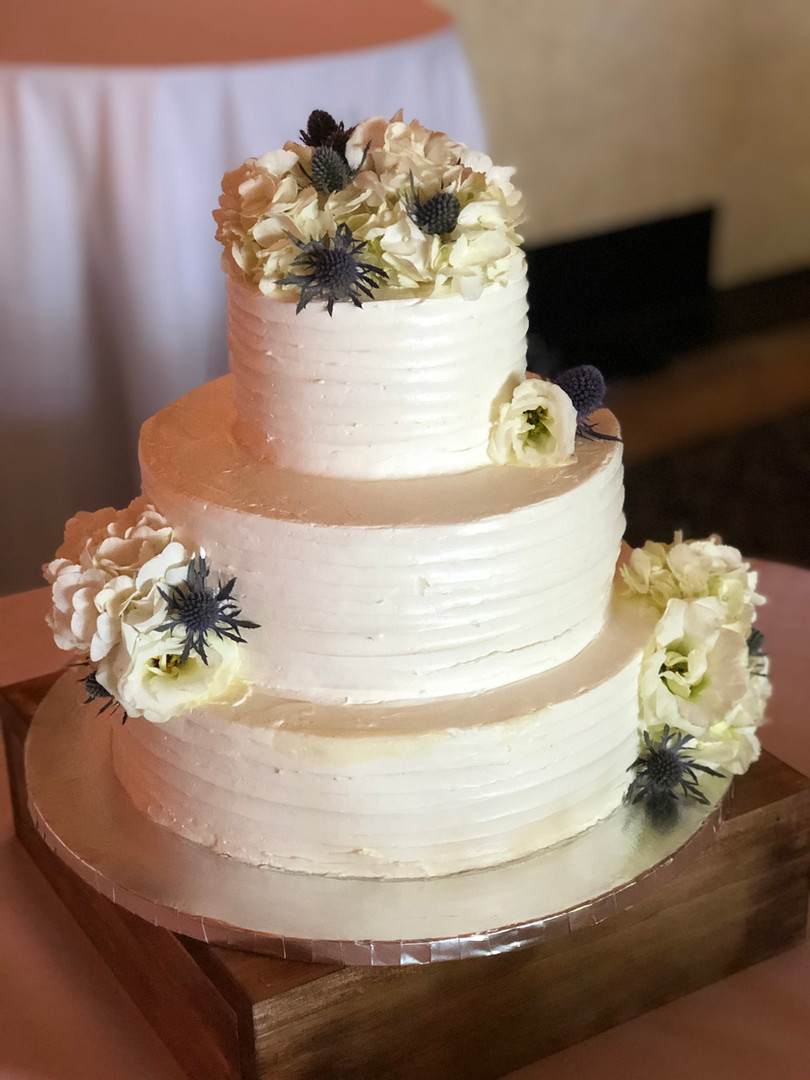 3 tier Wedding