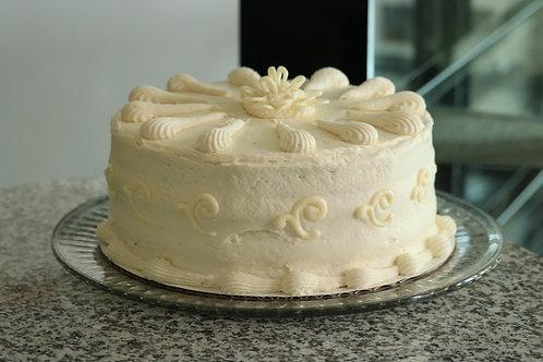 White Chocolate Cameo Cake
