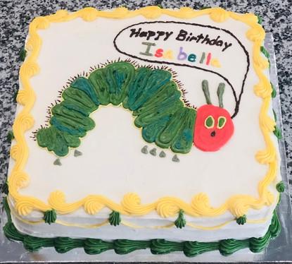 HungryCaterpillar Cake