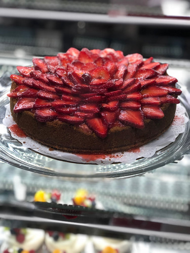 Cheesecake Supreme with strawberries