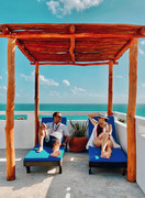 Kay Apartments Airbnb in Isla Mujeres, M