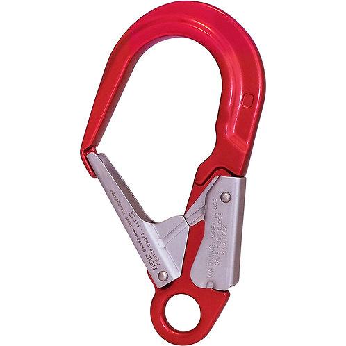 Gancho scaffold hook de aluminio 35kN doble acción apertura 60mm