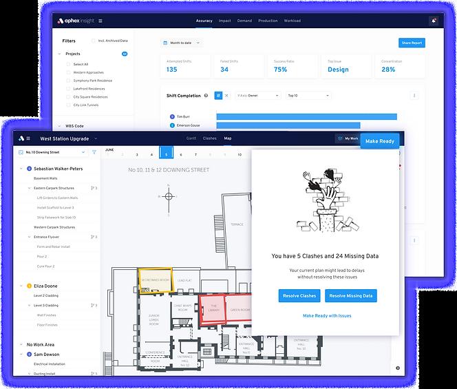 Aphex construction planning