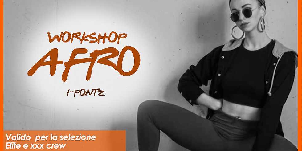 Workshop AFRO FUSION CONTEMPORARY max 15 partecipanti