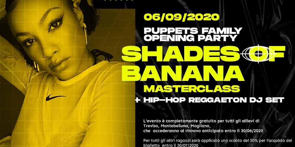 Shades of banana