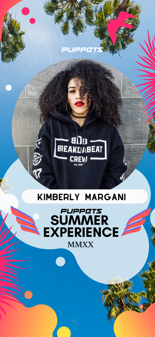 kimberly margani from break da beat  coreografa romana invitata al nostro summer experience 2020