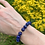 Thumbnail: Lapis Lazuli armband - 8 mm