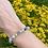 Thumbnail: Amazoniet (flower) armband - 6 mm