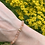 Thumbnail: Zonnesteen armband (facet) - 4 mm