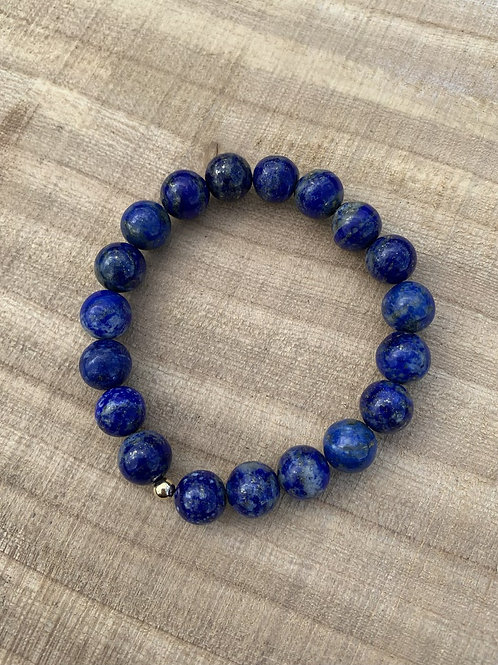 Lapis Lazuli armband - 8 mm