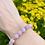 Thumbnail: Kunziet armband - 8 mm