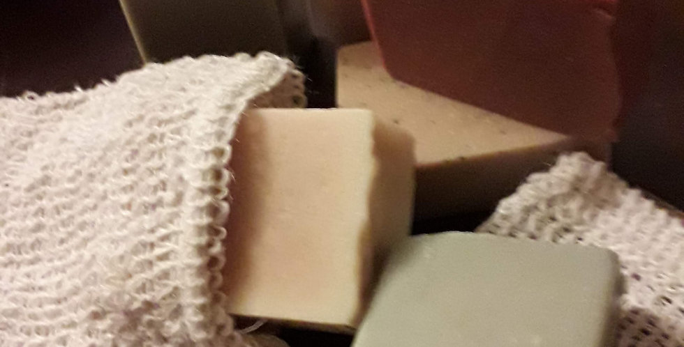 sisal soap pouches