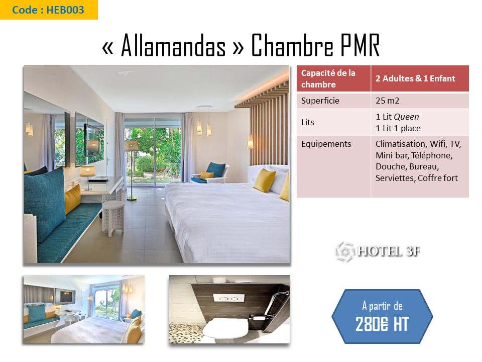 Chambre PMR Allamandas