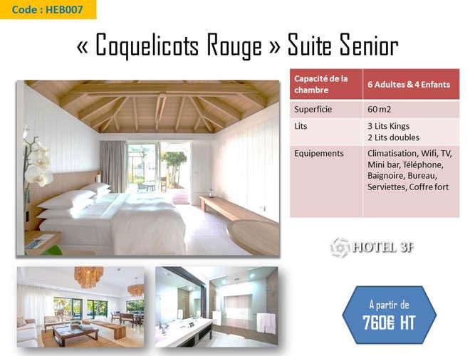 Suite Senior Coquelicots Rouge