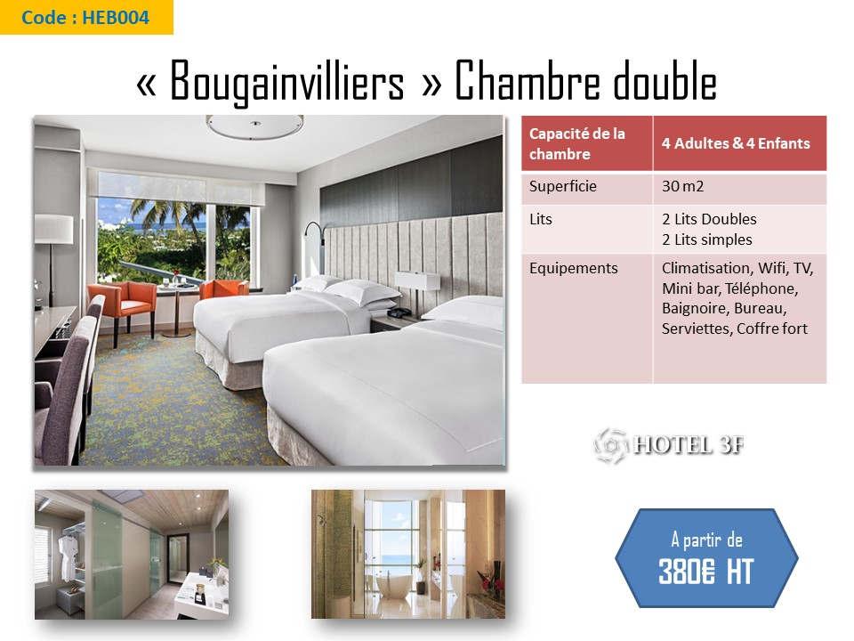 Chambre double Bougainvilliers