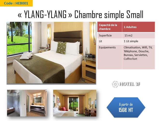 Chambre simple _Small_ Ylang-Ylang