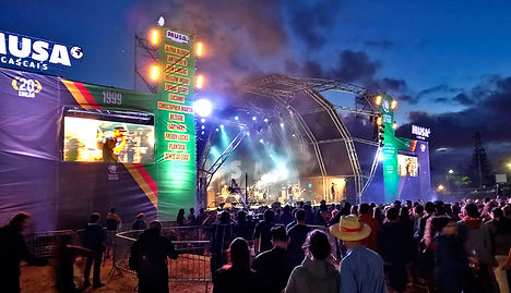 Arteled festival com ecra led