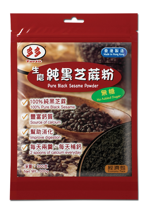Torto Pure Black Sesame Powder