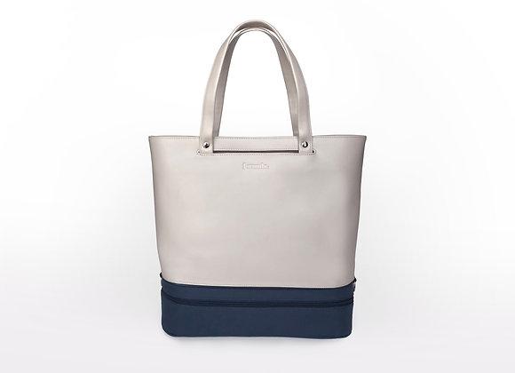Addition Bag in Cream & Navy Chiller Module