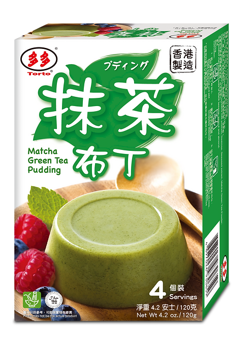 Torto Powdered Matcha Green Tea Pudding