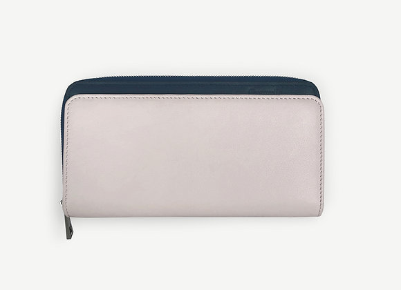 Addition Wallet Ivory & Navy
