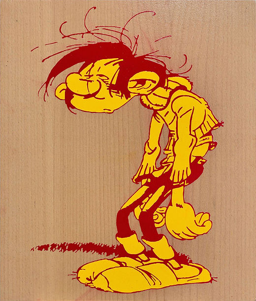 gaston-lagaffe-exhausted-depressed-paint