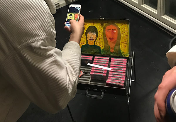 music-tapes-painting-severine-quentin-he