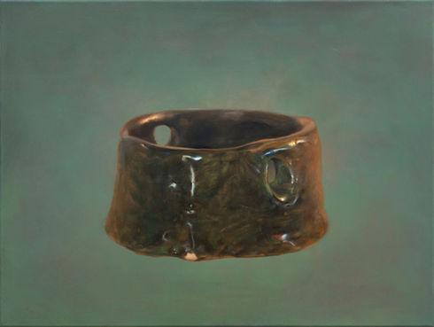 realistic-painting-handmade-ashtray-clay