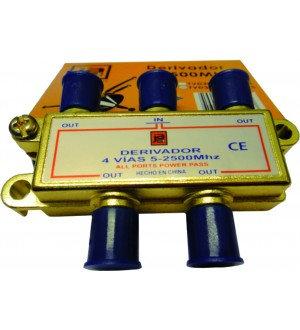 DERIVADOR CATV 5-2500MHZ 4VIAS TVD3014