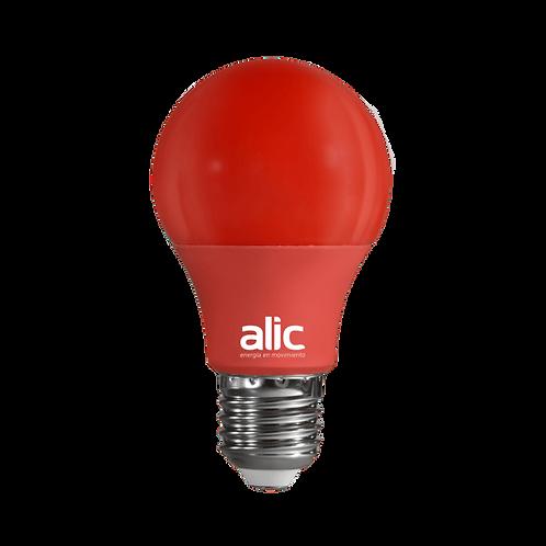 A60 ECO LED 6W ROJA / AMARILLA / VERDE / AZUL  E27