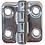 Thumbnail: BISAGRA INOX 38X38X2MM 4 TORNILLOS