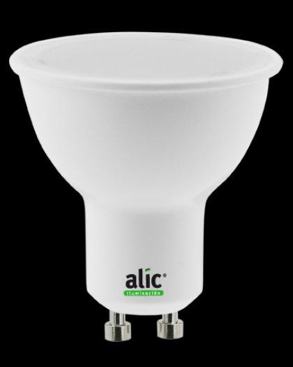Lámpara Dicroica ECO LED 5W Luz Día GU10