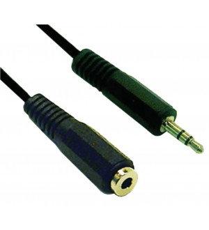CABLE PLUG 3.5ST-JACK 3.5ST 2M TVC0167