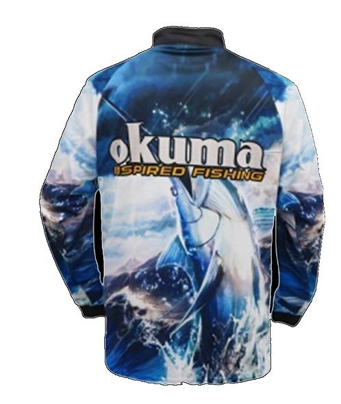 REMERA OKUMA SEA M/L TALLE M
