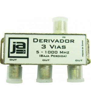 DERIVADOR CATV 5-1000MHZ 3VIAS TVD1013