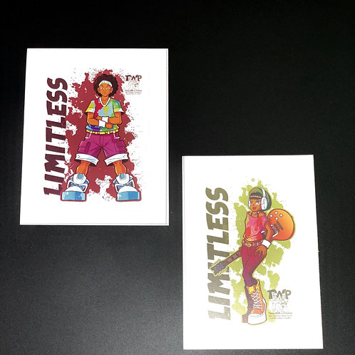 Limitless Stickers
